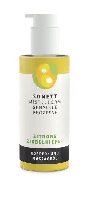 Sonett Body & Massage Oil Lemon Stone Pine - 145 ml