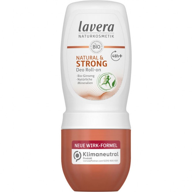 Lavera Deo Roll-on Natural & Strong - 50 ml
