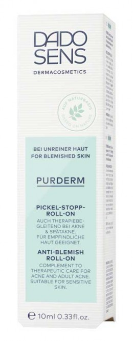 DADO SENS PurDerm Anti Blemish Roll On - 10 ml