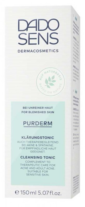 DADO SENS PurDerm Cleansing Tonic (blemish-oily) - 150 ml