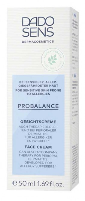 DADO SENS ProBalance Soothing Face Cream (delicate-allergic) - 50 ml