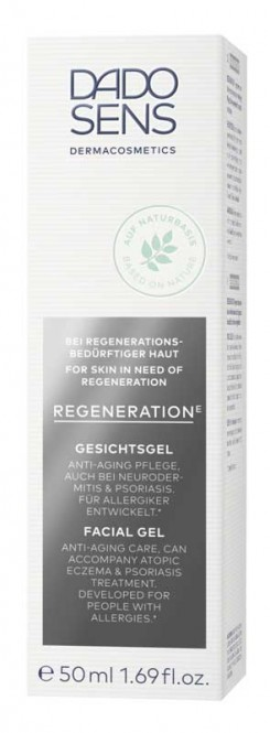 DADO SENS Regeneration E Fortifying Facial Gel (senitive-mature) - 50 ml