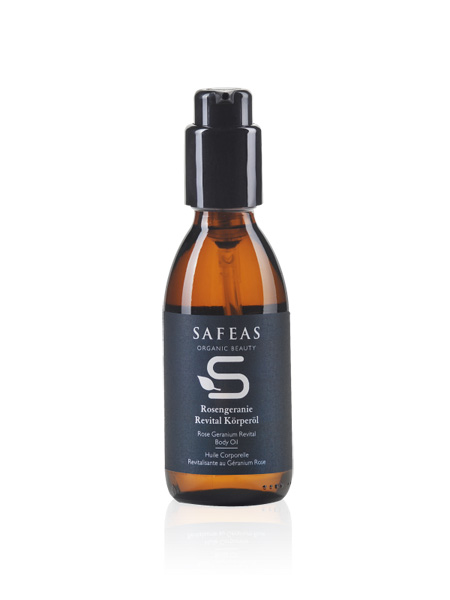 Safeas Rose Geranium Revital Body Oil - 100 ml