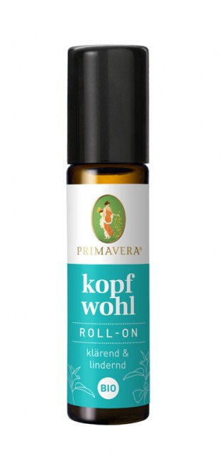 Primavera Aroma Organic Roll-On (Clear Mind) 10 ml