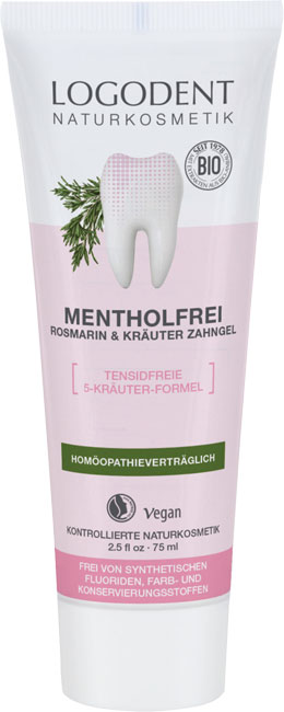 Logona Menthol-free Rosemary Herbal Toothpaste - 75 ml