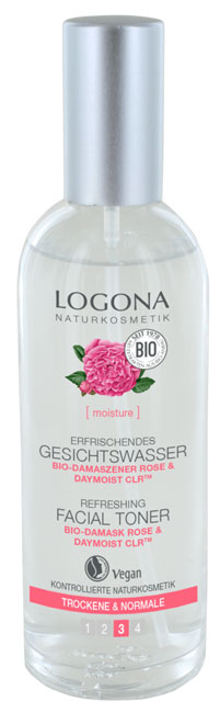 Logona Refreshing Face Toner - 125 ml