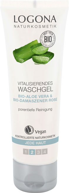 Logona Vitalizing Cleansing Gel - 100 ml