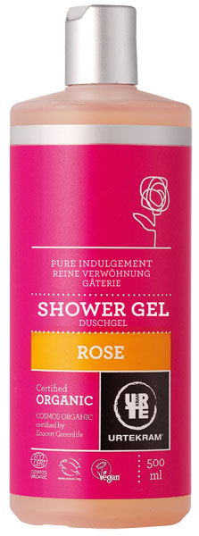 Urtekram Shower Gel Organic Rose - 500 ml