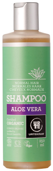 Urtekram Organic Shampoo Aloe Vera Normal Hair - 250 ml