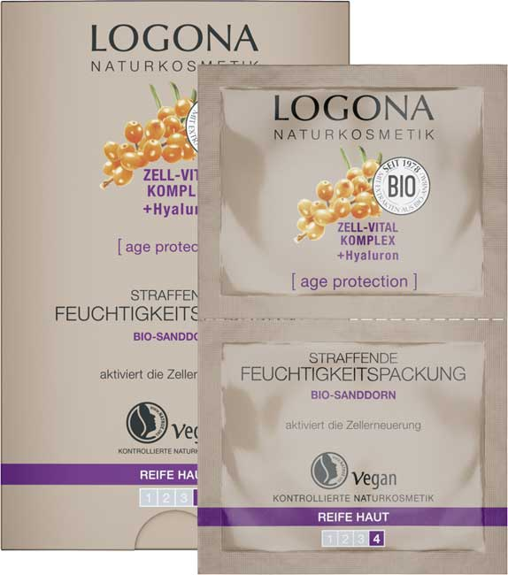 Logona Age Protection Firming Moisture Treatment - 15 ml
