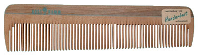 Kostkamm Natural Wood Comb - 14 cm