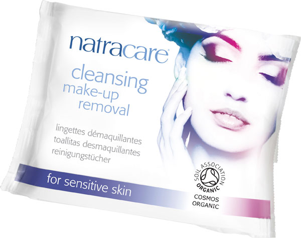 Natracare Cleansing Wipes (Makeup Remover) - 20 pcs.