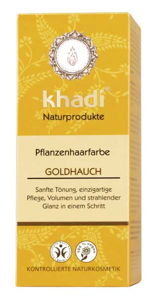 Khadi Natural Hair Color Golden Hint - 100 g