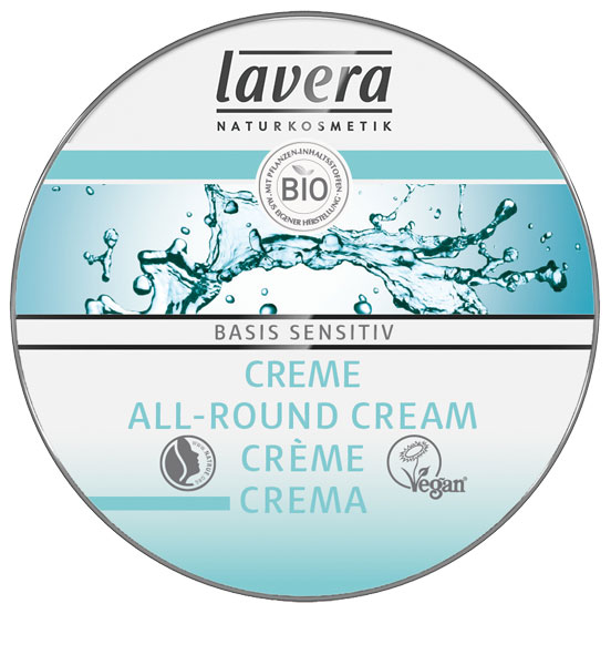 Lavera Basis Sensitiv Allround Cream Travel Size - 25 ml