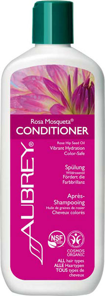 Aubrey Organics Rosa Mosqueta Nourishing Wildrose Herbal Conditioner (color treated hair) - 325 ml