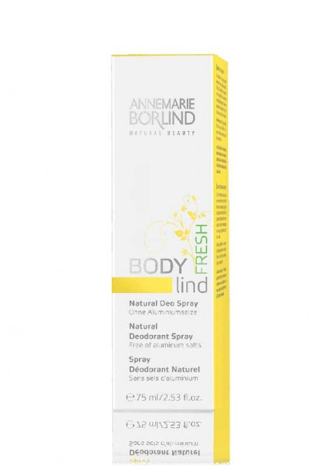 ANNEMARIE BÖRLIND BODY Lind Natural Deo Spray Fresh - 75 ml