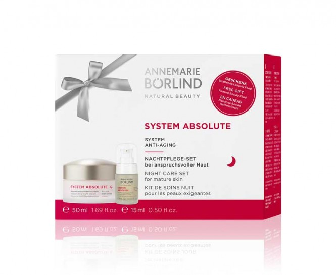 ANNEMARIE BÖRLIND SYSTEM ABSOLUTE ANTI AGING Nachtpflege-Set - 1 pcs.